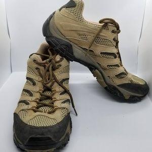 Men's Merrell Walnut Ventilator Hiking Shoes 11.5